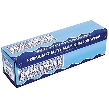 Boardwalk® 7120 Heavy-Duty Foil Roll, 12in.(W) x 500'(L), Silver