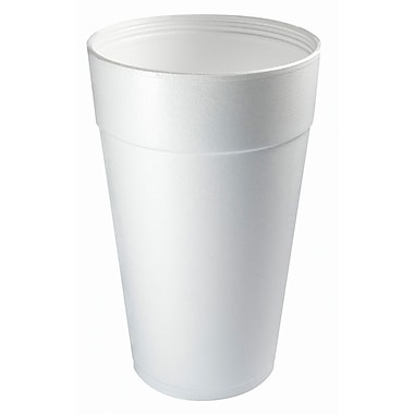 Dart® 44TJ32 Hot/Cold Cup, 44 oz. White, 300/Case