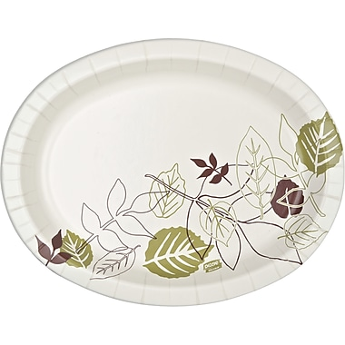 Dixie Ultra® SX11PLPATH Heavyweight Oval Platter, 8 1/2