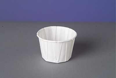 Genpak F200 Portion Cup, White, 2 oz., 5000/Case 150183