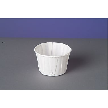 Genpak® F200 Portion Cup, White, 2 oz., 5000/Case