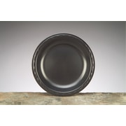 "Genpak® LAM09-3L Laminated Plate, 8.88""(Dia), Black, 500/Case"