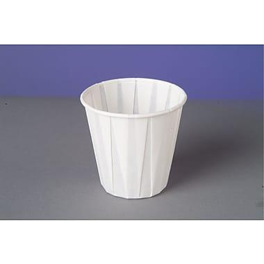 Genpak® W450F Drinking Cup, White, 3.5 oz., 2500/Case