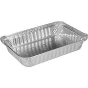 """Handi-Foil® 205930 Aluminum Oblong Pan, 1 5/8""""(H) x 4 9/16""""(W) x 5 9/16""""(D)"""