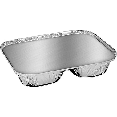 Handi-Foil® 204535-250W Food Container, Aluminum