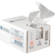 "Inteplast Group PB040208 Food and Utility Poly Bag, 8""(H) x 4""(W) x 2""(D), Clear"