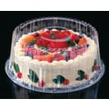 Pactiv Corporation® YCI89802 Shallow Cake Container, 8in.(Dia)
