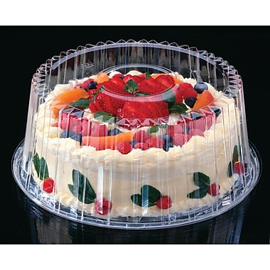 Pactiv Corporation® YCI89802 Shallow Cake Container, 8