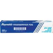 "Reynolds Wrap® 614 Metro Aluminum Foil, 18""(W) x 500'(L), Silver"