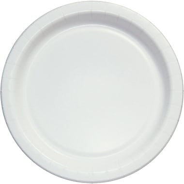 SOLO® BARE® ECO-FORWARD® HP9S Paper Plate, Clay Coated Paper, 500/Case
