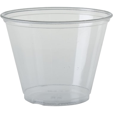 SOLO® Ultra Clear™ TP9R Pete Cold Cup, Translucent, 9 oz., 1000/Case