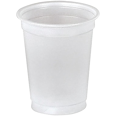 SOLO® CDE5 Plastic Sampling Cup, 5 oz. Translucent, 2500/Carton