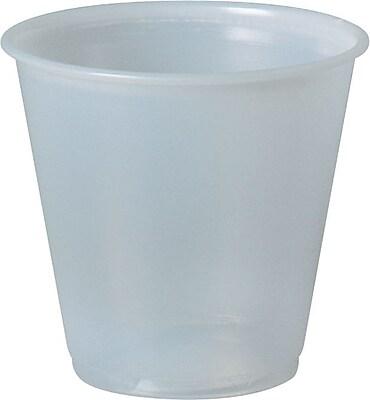 SOLO P35A Plastic Galaxy Cup, Translucent, 3.5 oz. 150320