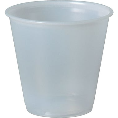 SOLO® P35A Plastic Galaxy Cup, Translucent, 3.5 oz.