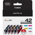 Canon CLI-42 Color Ink Cartridges (6385B010), Value 5/Pack