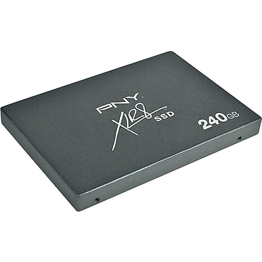 PNY XLR8 240GB 2.5in. SATA III (6 Gb/s) MLC Internal Solid State Drive (SSD)