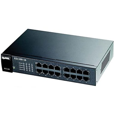 Zyxel® Ethernet Switch, 16-Ports (ES1100-16)