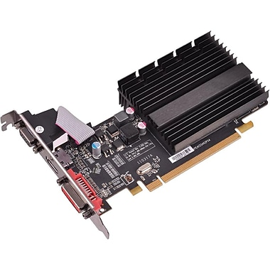 XFX® HD545XZQH2 Radeon HD 5450 GPU Graphic Card With ATI Chipset, 1 GB DDR3 SDRAM