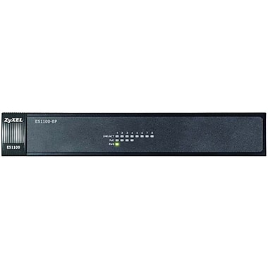 Zyxel® Ethernet Switch, 8-Ports (ES1100-8P)