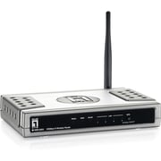 level one WBR-6003 Wireless N Router with 5dbi Antenna