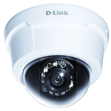 d-Link® DCS-6113 Full HD Dome IP Camera, 1/2.7in. 2 Megapixel CMOS Progressive Sensor