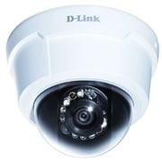 D-Link DCS-6113 Wired Dome IP Camera with Day/Night, White