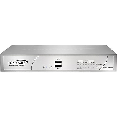 Sonicwall® NSA 220 Series Network Security Appliance With 2 Year Gateway