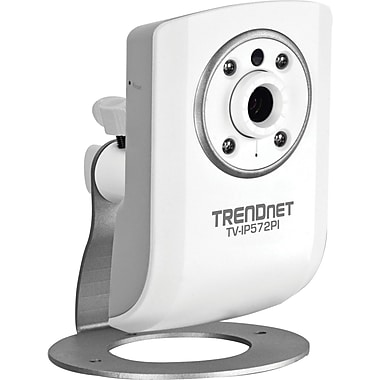 TRENDNET® TV-IP572PI Megapixel PoE Day/Night Internet Camera, 1/4in. CMOS