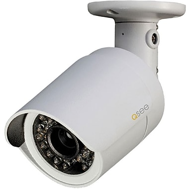 Q-See™ QCN7001B Digital High Definition IP Bullet Camera, 1/3in. Color CMOS