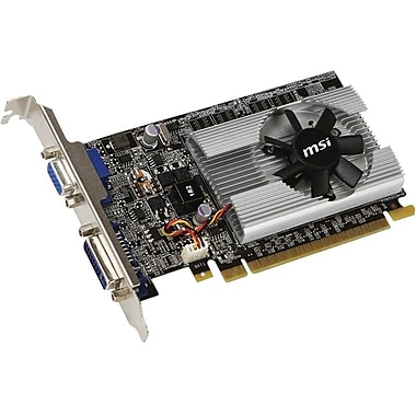 msi™ N210-512D2 GeForce 210 GPU Graphic Card With NVIDIA Chipset, 512 MB GDDR2 SDRAM