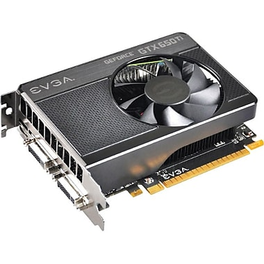 EVGA® 01G-P4-3650-KR GeForce GTX 650 Ti GPU Graphic Card With NVIDIA Chipset, 1 GB GDDR5 SDRAM