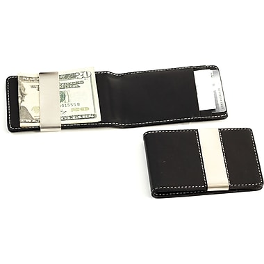 Bey-Berk BB181 Leather Wallets With Credit Card/ID Slots and Money Clip