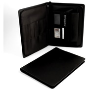 Bey-Berk Leather Portfolio,  Black