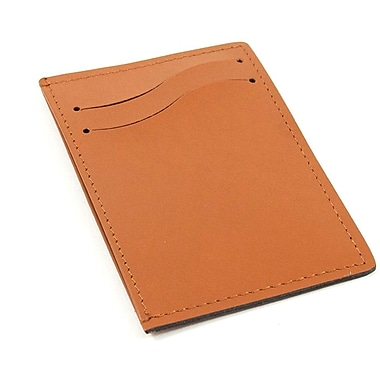 Bey-Berk Leather Slim  Wallet With Multi Slots, Saddle
