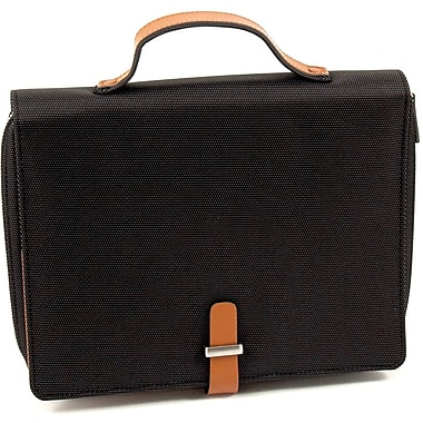 Bey-Berk Leather and  Ballistic Nylon Tablet Carrying Case, Saddle