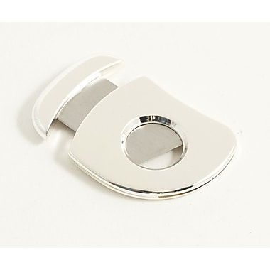Bey-Berk Silver Plated Cigar Cutter