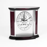 Bey-Berk Rosewood Clock  With Skelton Movement, Luxemburg