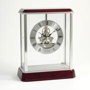 Bey-Berk Rosewood Clock  With Skelton Movement, Madrid