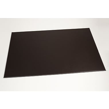 Bey-Berk Leather Desk  Pad, 18in.(L) x 28in.(W), Coco Brown
