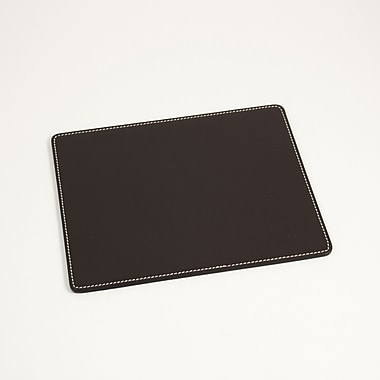 Bey-Berk Mouse Pad,  7 3/4in.(L) x 9 1/2in.(W), Coco Brown Leather