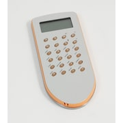 Bey-Berk Stainless Steel  World Time Alarm Clock and Calculator With Green Trim