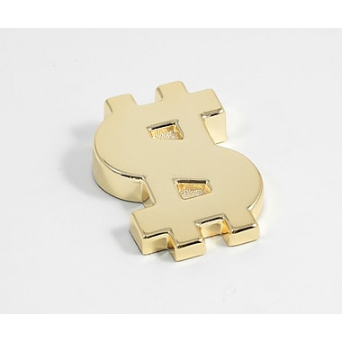 Bey-Berk Gold Plated  Paperweight, Dollar