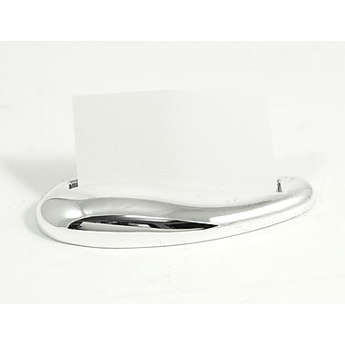 Bey-Berk D594 Silver Plated Business Card Holder