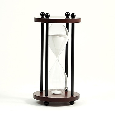 Bey-Berk 10 Minute Walnut Wood Sand Timer