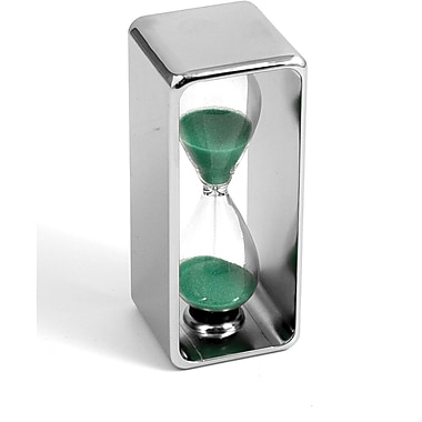 Bey-Berk 3 Minute  Nickel Plated Sand Timer