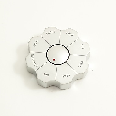 Bey-Berk Spinner Decision Maker Paperweight, Stock Market