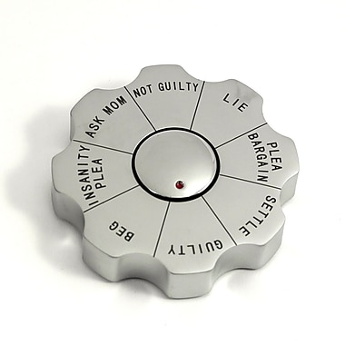 Bey-Berk Spinner Decision Maker Paperweight, Legal