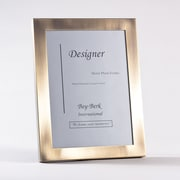 "Bey-Berk Brushed Bronze  Picture Frame, 8"" x 10"""