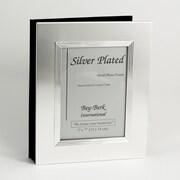Bey-Berk Silver Plated  Photo Album, 5 x 7