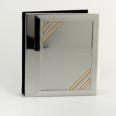 Bey-Berk Silver/Brass Photo  Album, 4in. x 6in.
